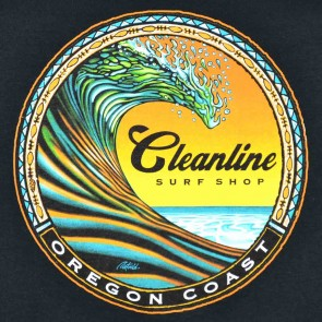 Cleanline Clean Wave Long Sleeve T-Shirt - Black