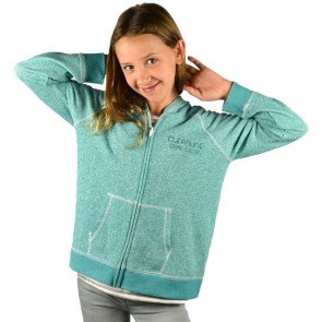 Cleanline Youth Golden Horizon Seaside Zip Hoodie - Peacock