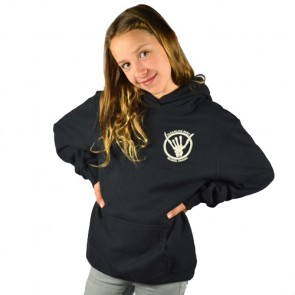 Cleanline Youth Shaka Bones Seaside Hoodie - Black