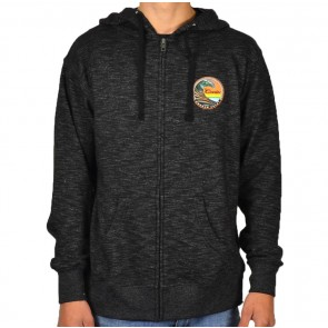 Cleanline Clean Wave Zip Hoodie - Black
