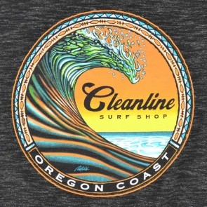 Cleanline Clean Wave Zip Hoodie - Black