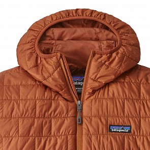 Patagonia Nano Puff Hoodie Jacket - Copper Orange