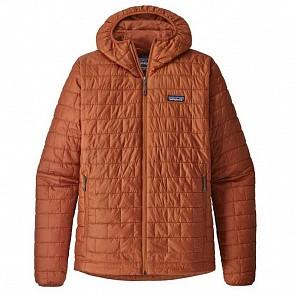 Patagonia Nano Puff Hoodie Jacket - Copper Orange