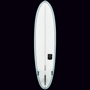 Creative Army Huevo Surfboard - Powder Blue Tint