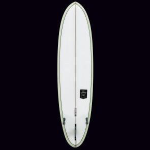 Creative Army Huevo Surfboard - Olive Tint