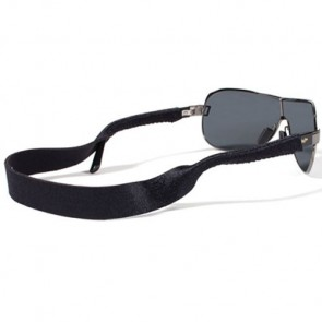 Croakie Solid Eyewear Retainer - Black