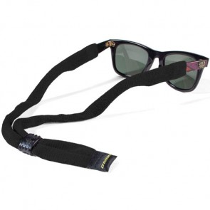 Croakie Cotton Suiter Eyewear Retainer - Black