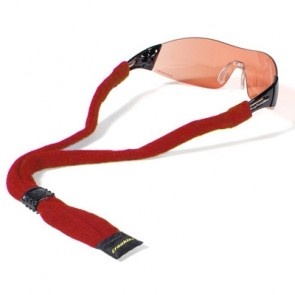 Croakie Cotton Suiter Eyewear Retainer - Red