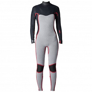 Rip Curl Women's Dawn Patrol 4/3 Chest Zip Wetsuit - 2018