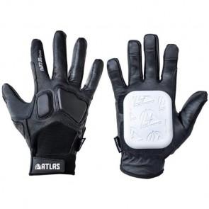 Atlas Truck Co. Touch Slide Gloves - Black/White
