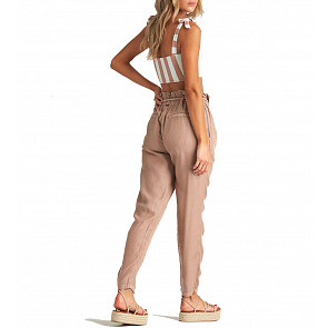 Billabong Women's Desert Adventure Pants - Khaki Sand