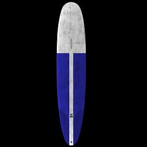 Harley Ingleby Series Diamond Drive Thunderbolt Surfboard - Grey/Blue Tint - Deck
