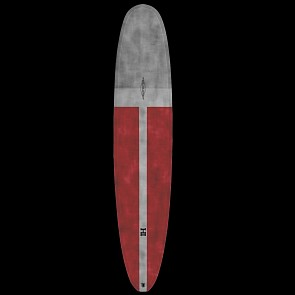 Harley Ingleby Series Diamond Drive Thunderbolt Surfboard - Xeon/Red Tint - Deck