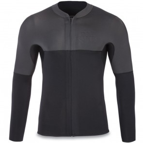 Dakine Neo 2mm Chest Zip Long Sleeve Jacket - Black