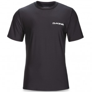 Dakine Heavy Duty Loose Short Sleeve Rash Guard - Black