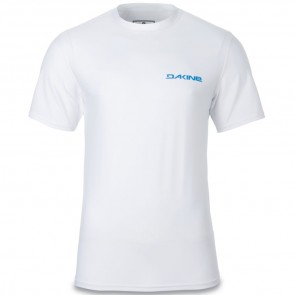 Dakine Heavy Duty Loose Short Sleeve Rash Guard - White