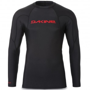 Dakine Heavy Duty Snug Long Sleeve Rash Guard - Black