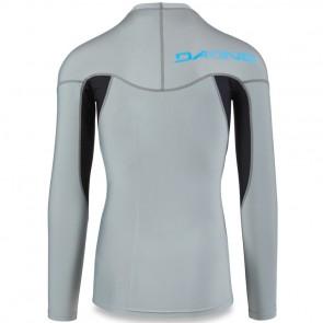 Dakine Heavy Duty Snug Long Sleeve Rash Guard - Carbon
