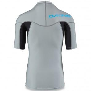 Dakine Heavy Duty Snug Short Sleeve Rash Guard - Carbon