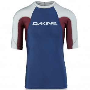 Dakine Heavy Duty Snug Short Sleeve Rash Guard - Resin