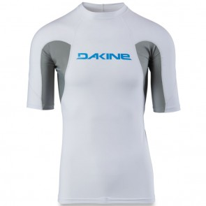 Dakine Heavy Duty Snug Short Sleeve Rash Guard - White