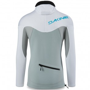 Dakine Storm Snug Hooded 2mm Long Sleeve Rash Guard - White