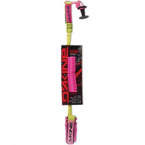 Dakine Kainui Coiled Bicep Bodyboard Leash - Pink