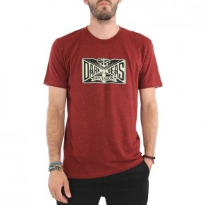 Dark Seas Lamp Light T-Shirt - Red