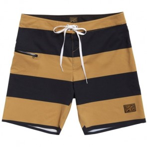 Dark Seas Blackwall Boardshorts - Tobacco
