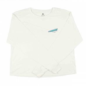 Sisstrevolution Women's Single Dreamin Long Sleeve T-Shirt - Vintage White