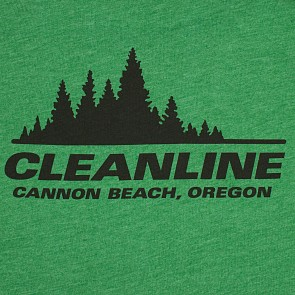 Cleanline Women's Treeline Cannon Beach Top - Heather Grass Green