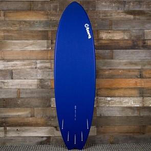 Torq Mod Fish 6'3 x 20 1/2 x 2 1/2 Surfboard - Navy Blue/White