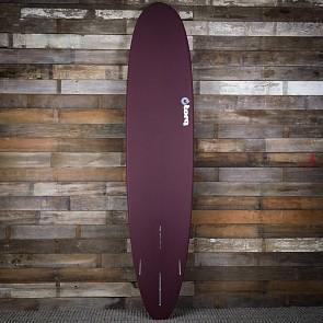 Torq Longboard 9'0 x 22 3/4 x 3 1/8 Surfboard - Burgundy/White
