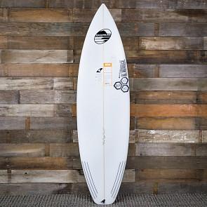 """Channel Islands Surfboards 5'11"""" Black & White Surfboard - Deck"""