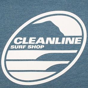 Cleanline Women's New Rock T-Shirt - Heather Deep Teal
