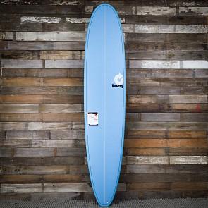 Torq Longboard 9'0 x 22 3/4 x 3 1/8 Surfboard - Blue - Deck