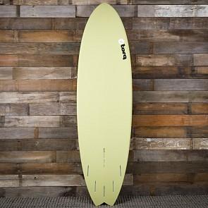 Torq Mod Fish 6'10 x 21 3/4 x 2 3/4 Sufboard - Sand/Red/Grey