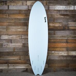 Torq Mod Fish 7'2 x 22 1/2 x 2 5/8 Surfboard - Blue/Sand/Blue