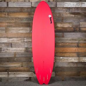 Torq Mod Fish 6'10 x 21 3/4 x 2 3/4 Surfboard - Red/White