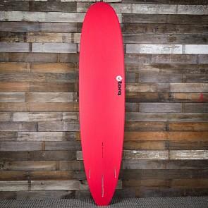 Torq Longboard 8'6 x 22 1/2 x 3 1/8 Surfboard - Red/White