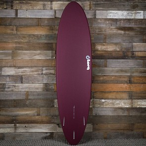 Torq Mod Fun 7'2 x 21 1/4 x 2 3/4 Surfboard - Burgandy/White