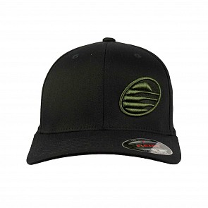 Cleanline Embroidered Rock Hat - Black/Army Green