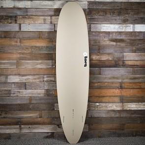 Torq Mini Longboard 8'0 x 22 x 3 Surfboard - Stone/Seagreen/Navy