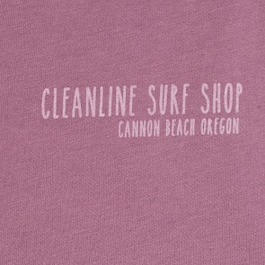 Cleanline Women's Pine Stamp Cannon Beach Muscle Tank - Shiraz