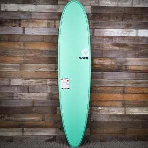 Torq Mini Longboard 8'0 x 22 x 3 Surfboard - Seagreen - Deck