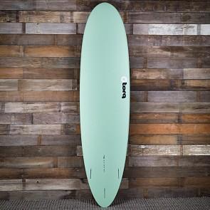 Torq Mod Fun 7'6 x 21 1/2 x 2 7/8 Surfboard - Seagreen/Red/Seagreen