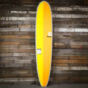 gboard 9'6 x 23 1/2 x 3 1/4 Surfboard - Grey/Yellow/Orange - Deck