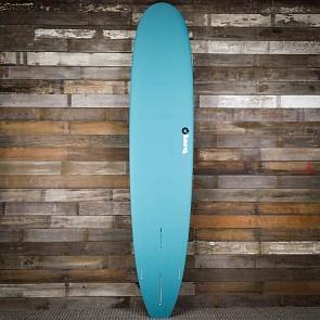Torq Longboard 9'6 x 23 1/2 x 3 1/4 Surfboard - Dark Green/White