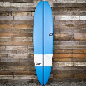 Torq TEC M2 XL 8'0 x 22 x 2 7/8 Surfboard - Blue/White - Deck
