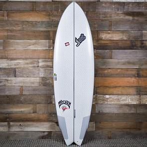 "Lib Tech 6'2"" Round Nose Fish Redux Surfboard - Deck"